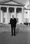 Eamon de Valera's 80th Birthday. Picture taken at his official residence at Áras an Uachtarain..12.10.1962
