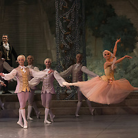 Members of the Hungarian National Ballet Company perform their piece The Nutcracker choreographed by Wayne Eagling and Tamas Solymosi the 100th time on the last day of the year in Budapest, Hungary on Dec. 31, 2018. ATTILA VOLGYI