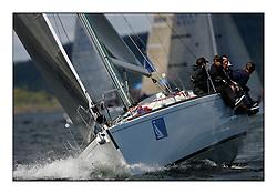 The Brewin Dolphin Scottish Series, Tarbert Loch Fyne..GBR3949R Deja Vu  Whitby YC  J120 Gerald Firth.