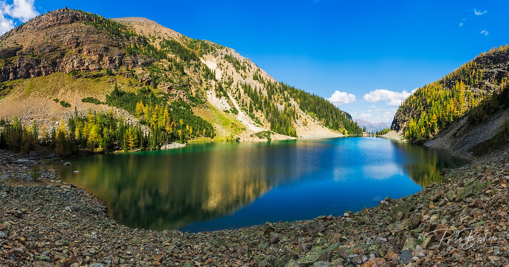 Lake Agness, Banff National Park, Alberta, Canada