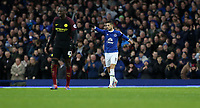 Football - 2016 / 2017 Premier League - Everton vs. Manchester City<br /> <br /> Kevin Mirallas of Everton celebrates scoring during the match at Goodison Park.<br /> <br /> COLORSPORT/LYNNE CAMERON