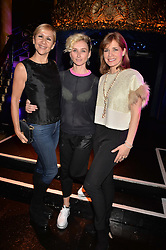 Left to right, Tania Bryer, Jo Manoukian and Darcey Bussell at the SheInspiresMe Dance in aid of Women for Women International held at the Café de Paris, 3 Coventry Street, London England. 25 January 2017.