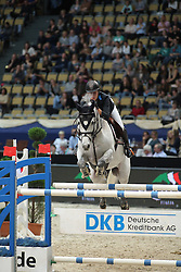 Gulliksen Johan-Sebastian, (NOR), Crespo PKZ<br /> DKB-Riders Tour<br /> Grand Prix Kreditbank Jumping München 2015<br /> © Hippo Foto - Stefan Lafrentz