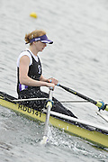 Eton, United Kingdom  GBR W1X. Georgie HAZELL, at the start of the women's single sculls  time trial,  at the 2012 GB Rowing Senior Trials, Dorney Lake. Nr Windsor, Berks.  Saturday  10/03/2012  [Mandatory Credit; Peter Spurrier/Intersport-images]