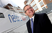 Andrew Cleaves,  Chief Executive of National Express. Pictured at their Headquarters in Digbeth Birmingham.Picture by Shaun Fellows/Shine Pix..