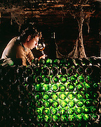Wine Producer Andre Roiteau in his wine cellar in Mersault, France which was built about 1659.  Most of what we think of as taste is really about smell.