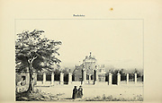 Pondicherry (here as Pondichery), India from Souvenirs d'un voyage dans l'Inde exécuté de 1834 à 1839 (A voyage to India) by Delessert, Adolphe, published in Paris in 1843