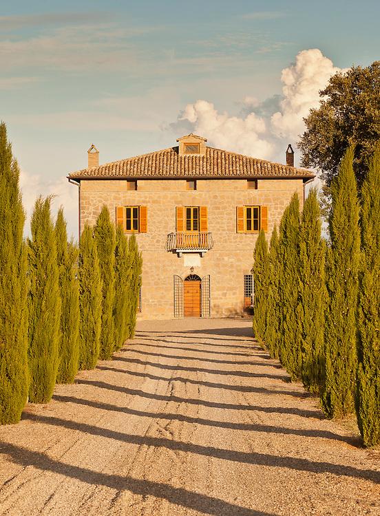 Villa San Donato, Lake Bolsena, Italy. The Drive.