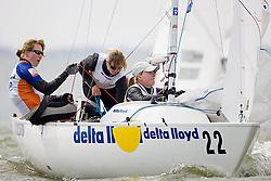 08_001989 © Sander van der Borch. Medemblik - The Netherlands,  May 23th 2008 . Third day of the Delta Lloyd Regatta 2008.