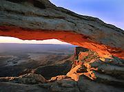 Mesa Arch at sunrise, Islands District, Canyonlands National Park, Utah