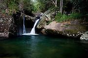 Alto Caparao_MG, Brasil...Poco das Piscinas na Cachoeira das Andorinhas em Alto Caparao...Poco das Piscinas in the Andorinhas waterfall in Alto Caparao...Foto: BRUNO MAGALHAES / NITRO