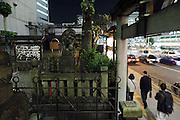 a small shrine near Shinagawa station Tokyo Japan