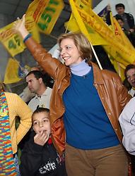 A candidata ao governo do Estado do RS, Yeda Crusius durante lançamento de candidatura na cidade de Novo Hamburgo. FOTO: Jefferson Bernardes/Preview.com