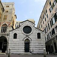 Chiesa romanica di San Matteo. San Matteo Romanic church.
