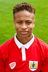 Bobby Reid poses for a head shot - Photo mandatory by-line: Rogan Thomson/JMP - 07966 386802 - 04/08/2014 - SPORT - FOOTBALL - BCFC Training Ground, Failand - Bristol City, 2014/15 Team Photos.