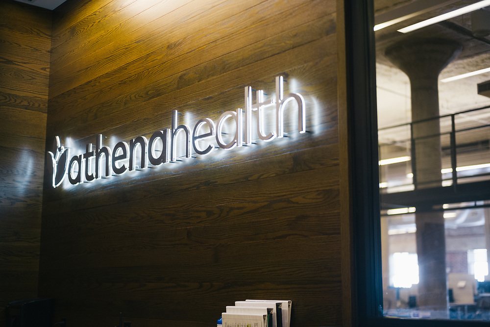 ATLANTA, GA – AUGUST 22, 2019: Scenes from the Athenahealth office in Atlanta.