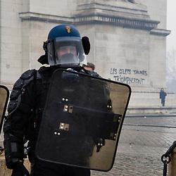 2018/11 Gilets Jaunes Paris Acte 3