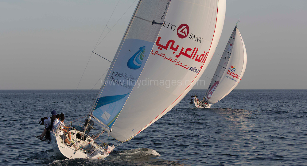 EFG Bank - Sailing Arabia The Tour 2013. .Pictures of Leg6. Ziggy Bay - Mussanah. Oman..Please credit: Lloyd Images