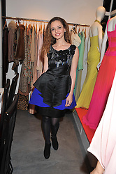 LAMA EL MOATASSEM at a dinner hosted by Carmen Haid at Atelier Mayer, 47 Kendal Street, London W2 on 21st February 2012.
