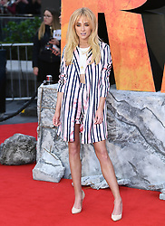 Nicola Hughes attending the European premiere of Rampage, held at the Cineworld in Leicester Square, London. Photo credit should read: Doug Peters/EMPICS Entertainment
