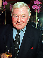 SIR DONALD GOSLING at a party in London on 3rd November 1999.MYN 51