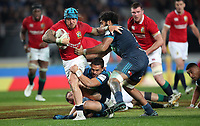 Rugby Union - 2017 British & Irish Lions Tour of New Zealand - The Blues vs. British & Irish Lions<br /> <br /> Jack Nowell is tackled by Sonny Bill Williams of the Blues at Eden Park, Auckland.<br /> <br /> COLORSPORT/LYNNE CAMERON