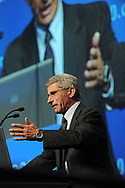 Austria, Vienna. XVIII International AIDS Conference (AIDS 2010).Tuesday Plenary.Photo shows: Antony Fauci, National Institute of Allergy and Infectious Diseases at the National Institute of Health, USA. <br /> Photo © Steve Forrest/Workers' Photos