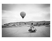 "Paula Lobo picture ""Dance in Cappadocia"" 2011"