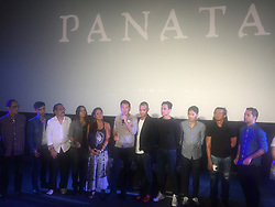 May 19, 2017 - Mandaluyong City, Philippines - Award-winning and internationally-acclaimed director Brilliant Mendoza showcases his films made for TV which highlights Filipino cultures during his presscon at Director's Club in Megamall Fashion Hall. (Credit Image: © Sherbien Dacalanio/Pacific Press via ZUMA Wire)