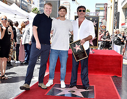 Louis Tomlinson attends the ceremony honoring Simon Cowell with a star on the Hollywood Walk of Fame on August 22, 2018 in Los Angeles, California. Photo by Lionel Hahn/ABACAPRESS.COM