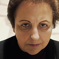 Shirin Ebadi, former President of the Court of Tehran, first Iranian woman to become a member of the Supreme Court, removed from positions in 1979 with the advent of the Islamic revolution. She bacame lawyer and defended many opponents of the Iranian regime. First Muslim woman to receive the Nobel Peace Prize.<br /> 18th October 2011<br /> <br /> Photograph by Rino Bianchi/Writer Pictures<br /> <br /> WORLD RIGHTS - NO ITALY