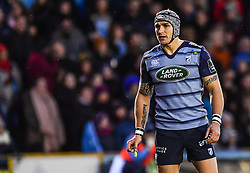 Cardiff Blues' Tom James - Mandatory by-line: Craig Thomas/Replay images - 31/12/2017 - RUGBY - Cardiff Arms Park - Cardiff , Wales - Blues v Scarlets - Guinness Pro 14