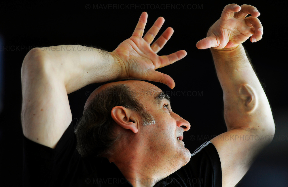Australian performance artist Stelarc appeared at the Edinburgh Science Festival today to show off his third ear, a surgically constructed ear which is attached to his left arm.  Stelarc who's real name is Stelios Arcadiou is looking to take this concept further by implanting a microphone into the ear and hooking it up to the internet via WIFI so that people around the world can listen in to what his ear is hearing.