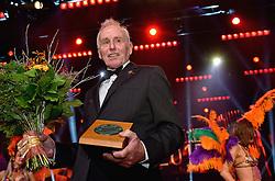 15-12-2015 NED: NOC*NSF Sportgala 205, Amsterdam<br /> In de Amsterdamse Rai werden de prijzen sportman, sportvrouw, sportploeg, coach en paralympische sporter verdeeld / Winnaars bij elkaar - oevreu winnaar Joop Zoetemelk