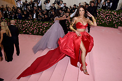 Halsey attends The 2019 Met Gala Celebrating Camp: Notes On Fashion at The Metropolitan Museum of Art on May 06, 2019 in New York City. Photo by Lionel Hahn/ABACAPRESS.COM