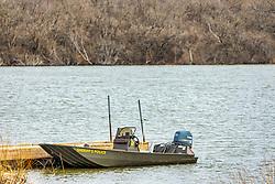 Sheriff's police boat