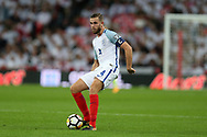 Jordan Henderson of England in action.FIFA World cup qualifying match, European group F, England v Slovakia at Wembley Stadium in London on Monday 4th September 2017.<br /> pic by Andrew Orchard, Andrew Orchard sports photography.