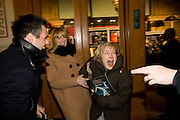 Kenny Logan ; Gabby Logan; Penny Smith, Cirque de Soleil London premiere of Quidam. Royal albert Hall. 6 January 2009