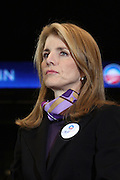 Caroline Kennedy at Presidental Candidate Barack Obama Rally at The Izod Center at the Meadowlands in New Jersey on February 4, 2008