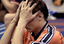 12-07-2000 VOLLEYBAL: WLV NEDERLAND - RUSLAND: ROTTERDAM<br /> Nederland verliest met 3-0 van Rusland / Reinder Nummerdor<br /> ©2000-FotoHoogendoorn.nl