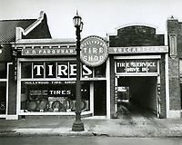 1922 Farquhar's Hollywood Tire Shop at 6262 Hollywood Blvd.