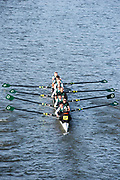 Chiswick. London. Saturday. 23.01.2016. Quintin Head. River Thames. Maidenhead Rowing Club Eight,   [Mandatory Credit: Peter Spurrier/Intersport-images.com]