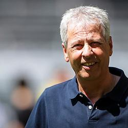 Lucien Favre (Trainer Borussia Dortmund); 1. Fussball-Bundesliga; Borussia Dortmund - TSG Hoffenheim am 27.06.2020 im Signal-Iduna-Park in Dormund (Nordrhein-Westfalen). <br /> <br /> FOTO: BEAUTIFUL SPORTS/WUNDERL/POOL/PIX-Sportfotos<br /> <br /> DFL REGULATIONS PROHIBIT ANY USE OF PHOTOGRAPHS AS IMAGE SEQUENCES AND/OR QUASI-VIDEO. <br /> <br /> EDITORIAL USE OLNY.<br /> National and<br /> international NewsAgencies OUT.<br /> <br /> <br /> <br /> Foto © PIX-Sportfotos *** Foto ist honorarpflichtig! *** Auf Anfrage in hoeherer Qualitaet/Aufloesung. Belegexemplar erbeten. Veroeffentlichung ausschliesslich fuer journalistisch-publizistische Zwecke. For editorial use only. DFL regulations prohibit any use of photographs as image sequences and/or quasi-video.