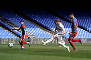 Goal, Mateusz Bogusz of Leeds United U23 scores, Crystal Palace U23 1-2 Leeds United U23 during the U23 Professional Development League match between U23 Crystal Palace and Leeds United at Selhurst Park, London, England on 15 April 2019.