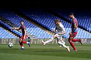 Goal, Mateusz Bogusz of Leeds United U23 scores, Crystal Palace U23 1-2 Leeds United U23 during the U23 Professional Development League match between U23 Crystal Palace and Leeds United at Selhurst Park, London, England on 15 April 2019.