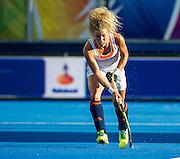 The Netherlands Maria Verschoor. The Netherlands v Belgium - Unibet EuroHockey Championships, Lee Valley Hockey & Tennis Centre, London, UK on 26 August 2015. Photo: Simon Parker