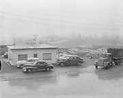 Y-550420A-12 Reimann & McKenney, drum plant, 3000 NW St. Helens Rd, April 20, 1955