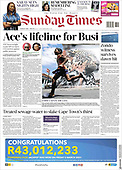 March 07, 2021 (AFRICA): Front-page: Today's Newspapers In Africa