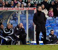 Photo: Leigh Quinnell.<br /> Birmingham City v Newcastle United. The FA Cup. 06/01/2007. Glenn Roeder watches his team draw at St.Andrews.