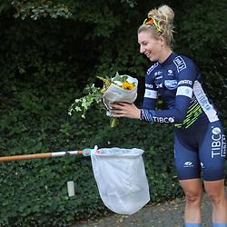 20-09-2020: Wielrennen: omloop: Ulestraten<br /> Nina Kessler (Netherlands / Team TIBCO-Silicon Valley Bank)